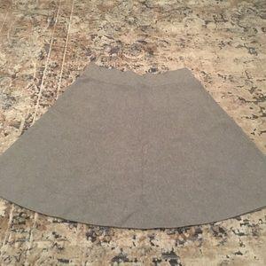 Ann Taylor grey knit skirt